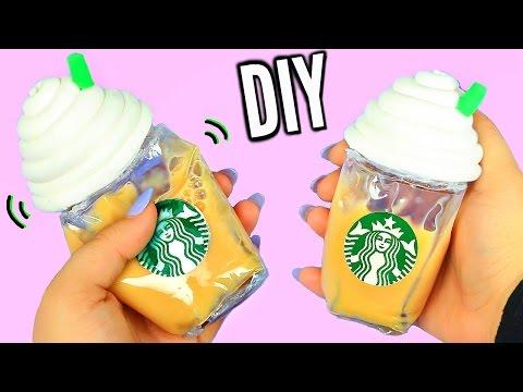 DIY Liquid Starbucks Squishy! Super Cool Liquid Squishy!