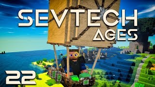 SevTech: Ages EP21 The Betweenlands Cragrock Tower + Ore