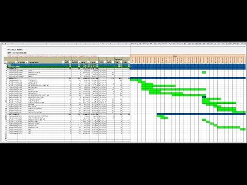 Advanced Excel Gantt#4