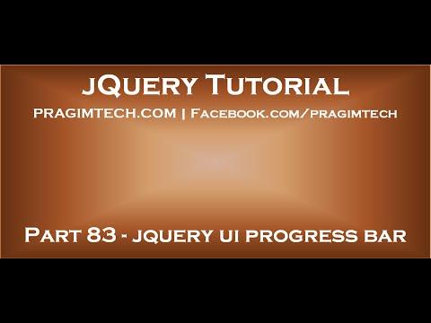 jquery ui progress bar