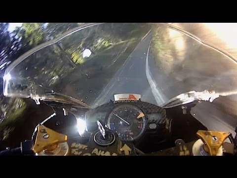 april23 *raw test footage* pushing@ 95% and sliding the rear AMA Superbike Dunlop race tyres