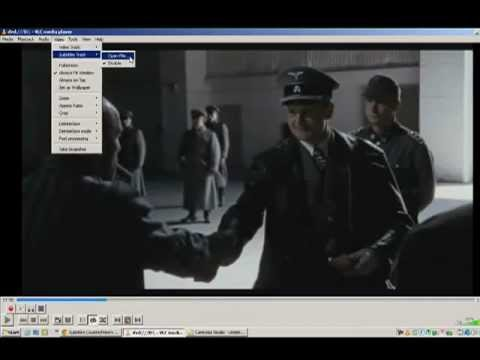 Play subtitles with VLC media player