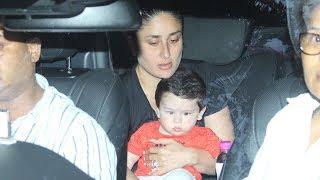 Taimur Ali Khan Visits Grandmother Babita With Mom Kareena Kapoor