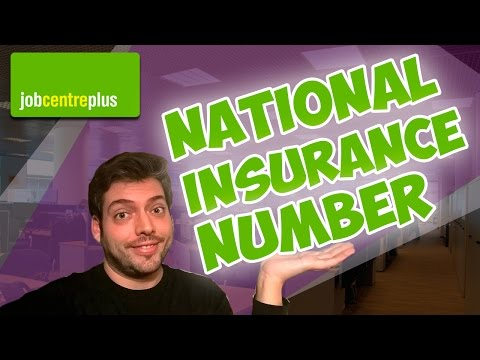 National Insurance Number: Pide cita para entrevista en el Job Centre (NINo) | vlog #10