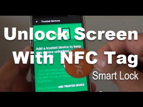 Google Nexus 5: How to Unlock Lock Screen With NFC Tag (Smart Lock)