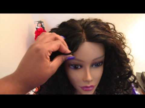 HOW TO MAKE YOUR OWN WIG WITH A LACE CLOSURE and Mayvenn hair review