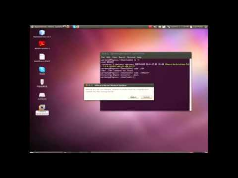 Installing and Patching VMWare Workstation and Server in Linux
