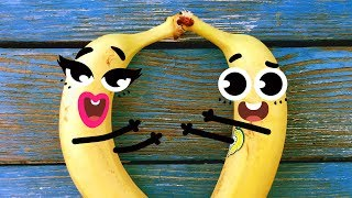 Download THESE FRUITS ARE SO FUNNY! TRY NOT TO LAUGH - 24/7 DOODLES Video