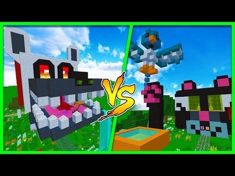Minecraft - DOG HOUSE VS CAT HOUSE! w/LittleRopo