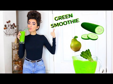 Green Smoothie for Better Hair & Skin