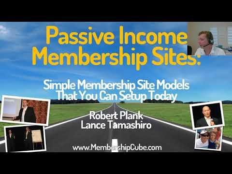 Passive Income Membership Sites with WordPress and Wishlist Member