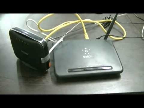Configure BSNL broadband modem/router setup