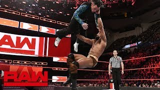 Jinder Mahal vs. Jeff Hardy - United States Championship Match: Raw, April 16, 2018