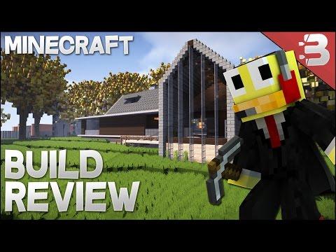 Minecraft: Modern Barn House / Guest House