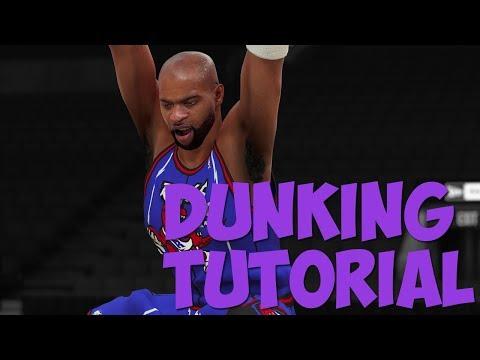 NBA 2K18 - DUNKING Tutorial: 360 Dunks, Reverse Dunks, Spin Dunks, Jordan FT Line Dunks, & More!!