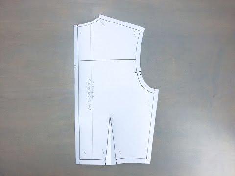 Flat Pattern Lesson 2: Basic Woven Back Bodice