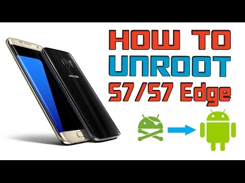 UNROOT, UNBRICK, BACK TO STOCK Galaxy S7 or S7edge - PlayItHub