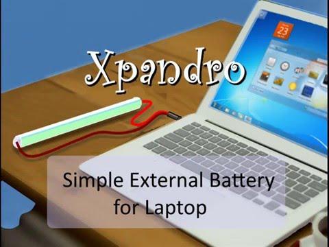 Built a Simple External Battery for Laptop