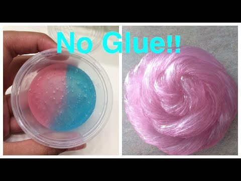 3 Ways How To Make Slime With No Glue!!