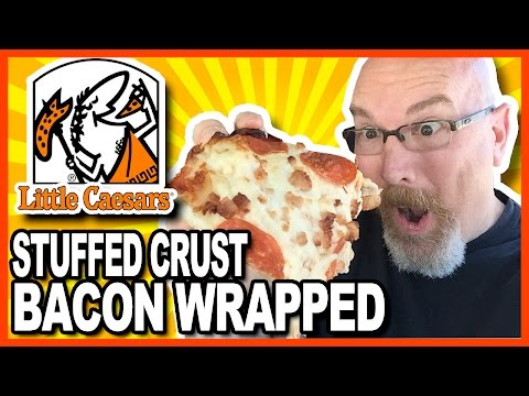 Little Caesars Stuffed Crust BACON WRAPPED DEEP DEEP Dish Pizza