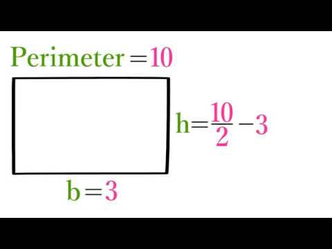 Lesson 11 Finding the Base or Height of a Rectangle from Its Perimeter