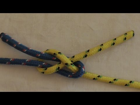 Join Rope Together Master A Sheet Bend Knot
