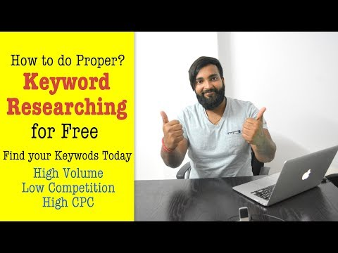 How to do Free Keyword Researching Explain & Rank your Site