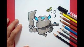 Drawing King Of Clash Royale Speedpaint Como Dibujo El Rey De