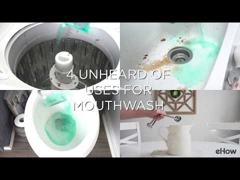 4 Things To Clean With Mouthwash