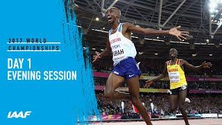 IAAF World Championships London 2017 - Day 1 Live stream