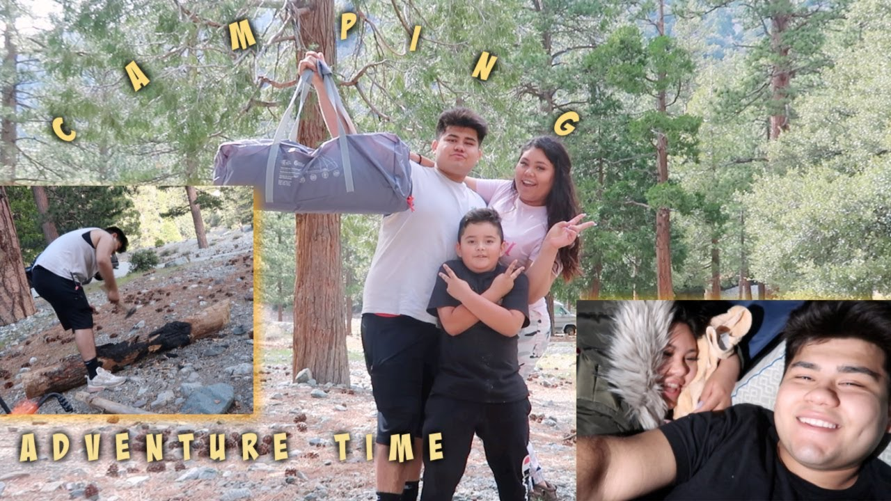 OUR SPONTANEOUS CAMPING ADVENTURE *HE COULDN'T SLEEP*