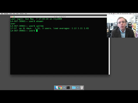 How to open Terminal on Mac OSX [SCREENCAST]