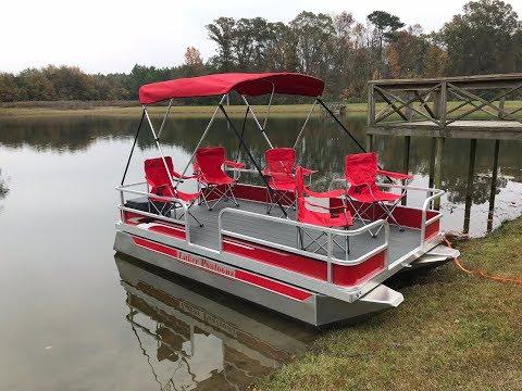 Laker 712 Mini Pontoon Boat