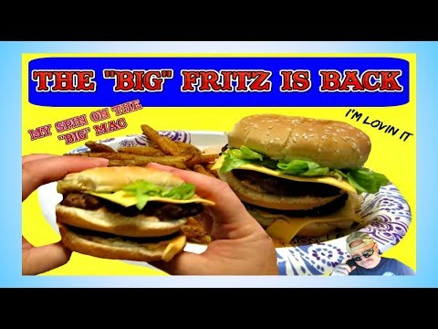 The  BIG Fritz  my Rendition of the  Big Mac : HVAC Guys Gotta Eat too