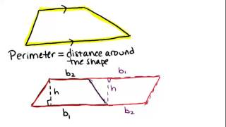 Area And Perimeter Of Trapezoids Lesson Geometry Concepts