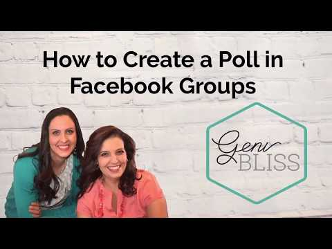 How to Create a Facebook Group Poll