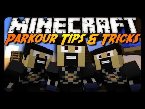 Minecraft: Parkour Tips & Tricks! (Water, Ladder Jumps & More)