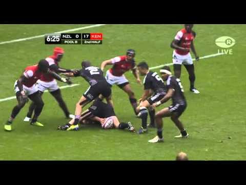 New Zealand vs Kenya. London 7s 2013