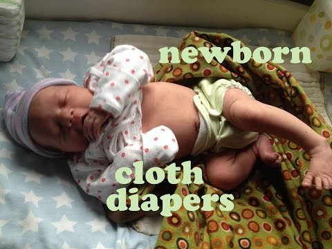 How To Cloth Diaper Your Newborn Like A Champ!