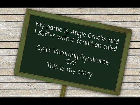 Cyclic Vomiting Syndrome (CVS) Awareness Story - Angie Crooks
