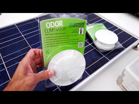 Stop RV Tank Odor With RV 360 Siphon Vents