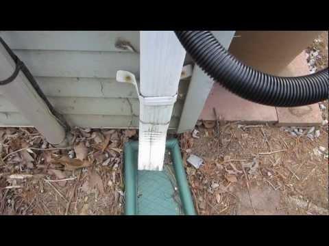 Installing a Rain Barrel and Diverter