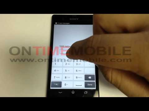 How to Check Ur IMEI and How to unlock Sony Xperia Z C6606