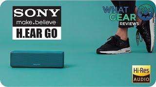 SONY - H.EAR GO - Wireless Speaker - Hi Res Audio