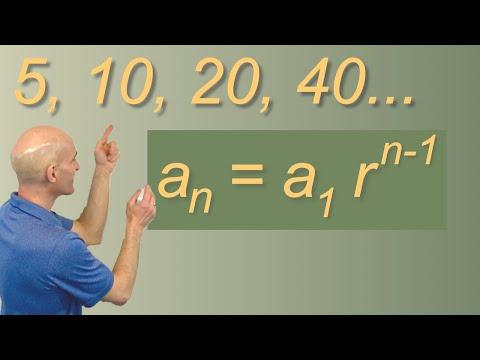 Geometric Sequence Formula