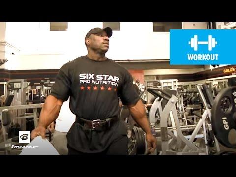 IFBB Pro Dexter Jackson's Bodybuilding Leg Workout for Mass | Classic Workout (HD)