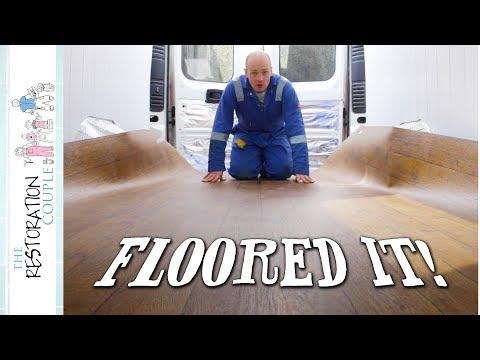 Fitting CAMPERVAN FLOORING | TRC Van Conversion 18.0