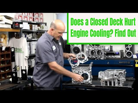 Cooling myths of the Closed Deck Block