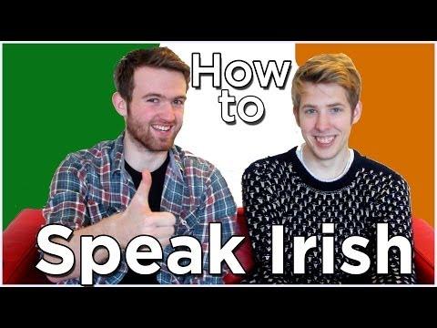 HOW TO SPEAK IRISH ACCENT | Evan Edinger & Sean Connolly