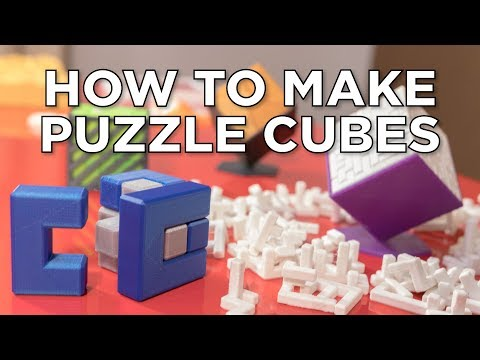 How to Make Anything #3 // Puzzle Cubes in Fusion 360 + Competition